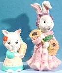 Lady Bunny Rabbit Pair
