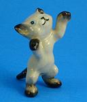 Hagen-renaker Miniature Reaching Siamese Kitten