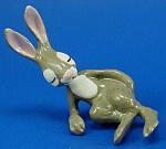 Hagen-renaker Miniature Resting Hare