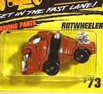 Matchbox 1994-1997 Style Card, #73 Rotwheeler
