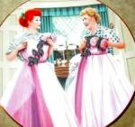 1990 I Love Lucy 2 Of A Kind Hamilton Plate