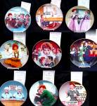 8 I Love Lucy Plate Complete Set + Large Commemorative - No Bx No Coa