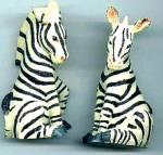 Zebras Zebra - Noahs Noah's Endearing Mates Pair Set - Htf Artist Elfie Harris