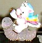 Enesco Starbright Blaze A Trail To Your Dreams #298409 H Unicorn Riding Caterpillar