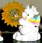Catch A Ray Of Hope Starlight Starbright Unicorn Enesco #280410 #214213 Holding Sun
