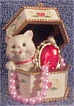 Carlton Cards Heirloom Collection Pretty Kitty 2003 Cxor-095j #65 Cat Kitten American