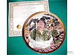 Bravery Under Fire John Wayne Patriotic Military Army God Bless America R. Tanenbaum