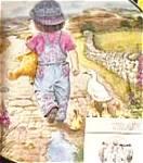Thursday's Child A Child's Blessing Cooper Crownware Hamilton Tomboy Teddybear Ducks
