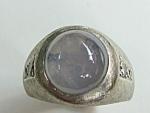 Diamond Star Sapphire Ring