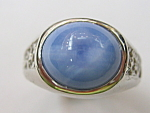 Blue Linde Star Sapphire Ring