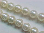Pearl Necklace/bracelet Suite