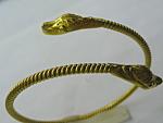 22kt Gold Double Snake Bangle