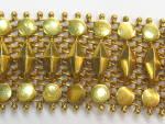 18kt Gold Mesh Bracelet