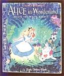 Alice In Wonderland Meets The White Rabbit