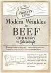 Modern Wrinkles In Beef Cookery - Safeway