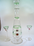 Poschinger Early Threaded Decanter - Cordials