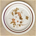 Autumn Bouquet Bread And Butter Plate