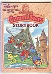 Disney's The Adventures Of The Gummi Bears Storybook