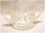 Anchor Hocking Prescut Pineapple Sugar Bowl