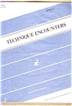 Technique Encounters - Book Ii - Flute