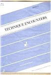 Technique Encounters - Book Ii - Flute
