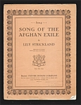 Song Of The Afghan Exile - Strickland 1928
