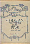 World-famous Modern Selections For Piano 4th Grade