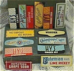 Assorted Bottle Neck Labels
