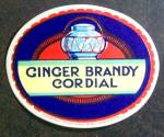 Ginger Brandy Cordial