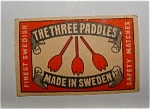 The Three Paddles