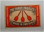 The Three Paddles