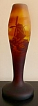 Muller Freres Cameo Glass Vase