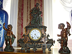 Seth Thomas Clock Garniture Set