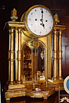 Austrian Gold Gesso Clock