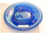 Cobalt Blue Peking Glass Small Plate