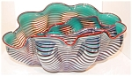 Dale Chihuly - Silver Blue Seaform Set