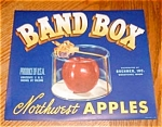 Band Box Apple Label