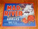 Mad River Apple Label (Red Stripe)