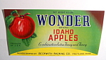 Wonder Idaho Apples