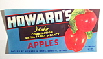 Howard's Apples