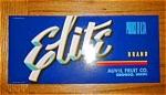 Elite Fruit Label