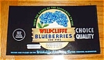 Wildcliffe Blueberry Labels