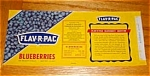 Flav-r-pac Blueberry Labels
