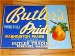 Butler's Pride Pear Labels