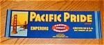 Pacific Pride Grape Label