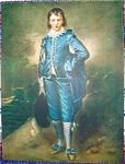 Blue Boy Print