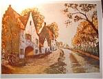 Canal En Flanders Print
