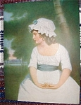 Colonial Girl Print