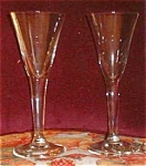 Two Cordial Glasses