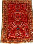 Small Persian Rug Circa 1920s